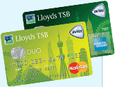 Lloyds TSB Duo Avios Credit Cards