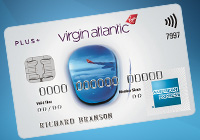Virgin Altantic White Amex Credit Card